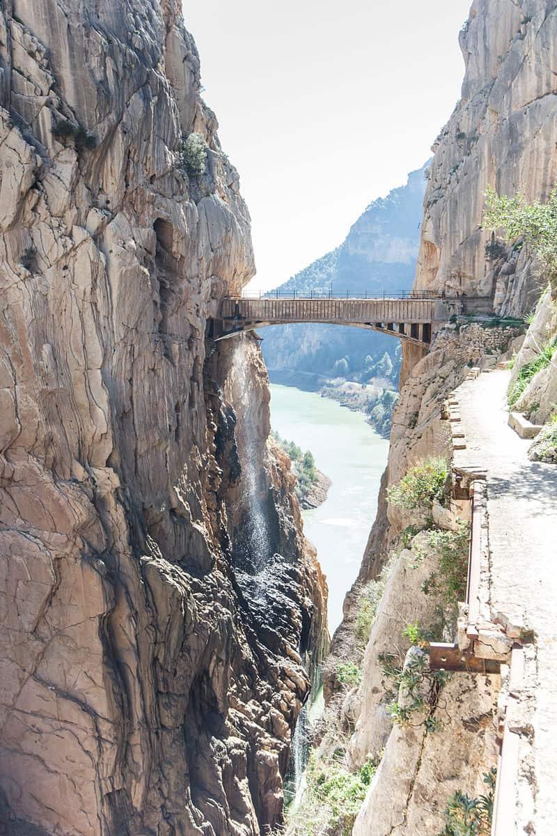 Caminito del Rey Brücke Bild: Michael131977 CC BY-SA 3.0