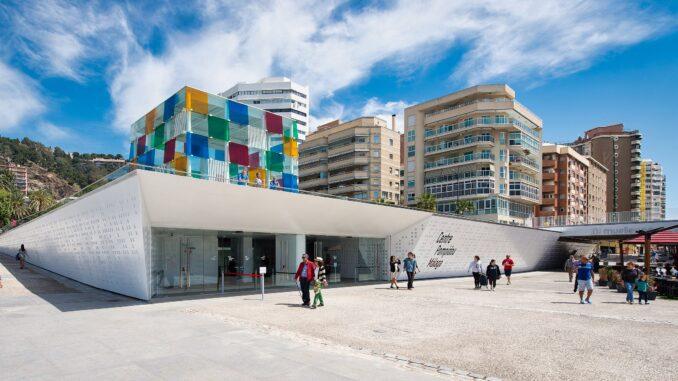 Centre Pompidou Málaga Bild: Epizentrum CC BY-SA 3.0